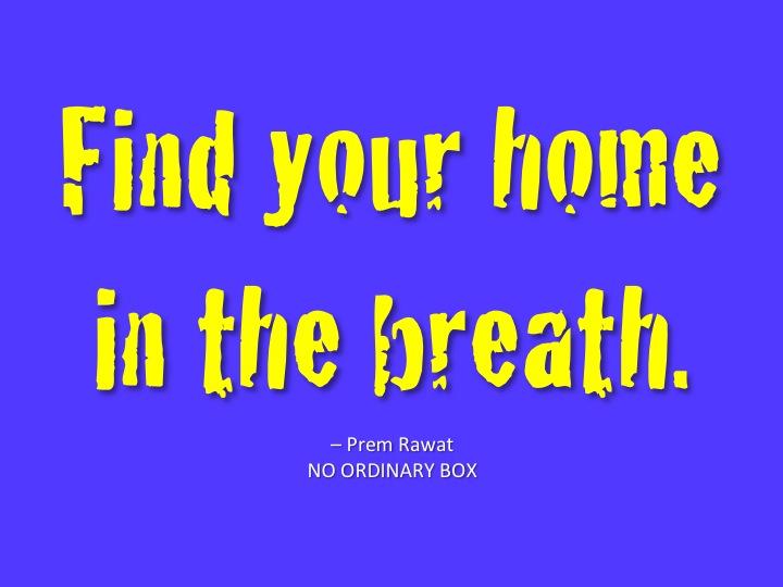 Dein Zuhause im Atem finden